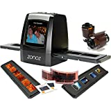 zonoz FS-ONE 22MP Ultra High-Resolution 35mm Negative Film & Slide Converter Scanner w/2.4 TFT LCD - No Computer or Software Required - TV Out Cable Included & Worldwide Voltage 110V/240V AC Adapter