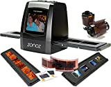 zonoz FS-ONE 22MP Ultra High-Resolution 35mm Negative Film & Slide Converter Scanner w/2.4'' TFT LCD - No Computer or Software Required - TV Out Cable Included & Worldwide Voltage 110V/240V AC Adapter