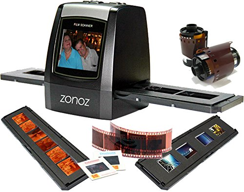 For Sale! zonoz FS-ONE 22MP Ultra High-Resolution 35mm Negative Film & Slide Converter Scanner w/ 2....
