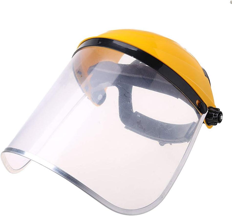 ZOOMY Limpie la máscara del Visor del Casco de Seguridad de Full Face Shield para la construcción automotriz