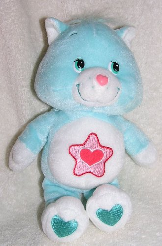 """Used, 2003 Care Bears Cousins 10"""" Plush Proud Heart Cat Doll for sale  Delivered anywhere in Canada"""