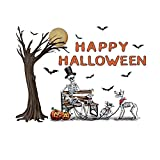 Collections Etc Happy Halloween Skeleton Garage Door Magnets