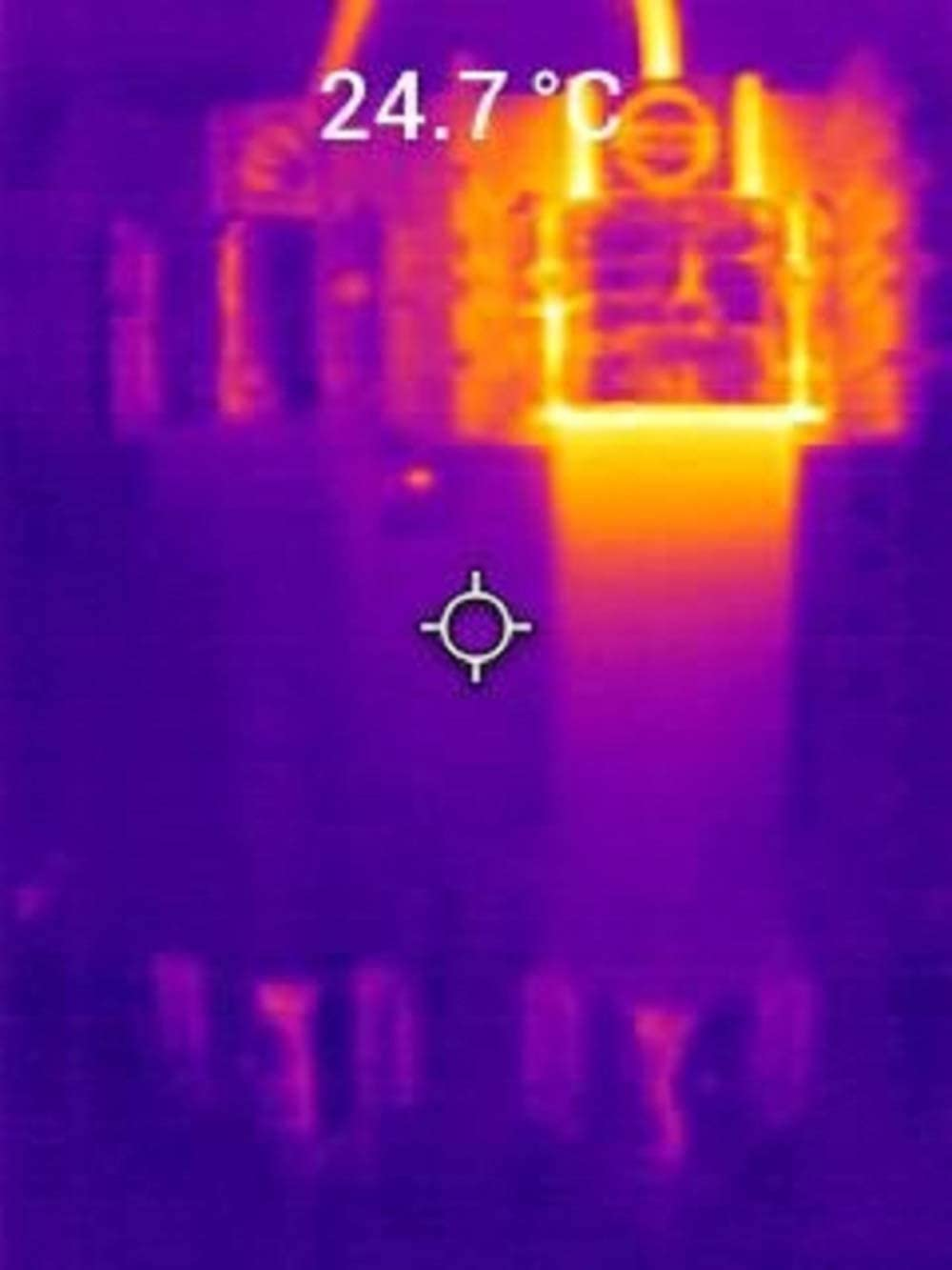 FLIR TG165-X Thermal Camera imaging tool for temperature anomalies 50,000 image storage and rechargeable Li-ion Battery with Bullseye laser