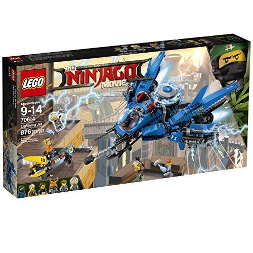 LEGO Ninjago Lightning Jet 70614 Building Kit (876 Piece)