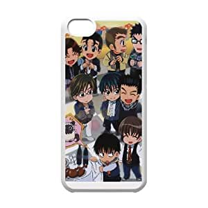 iphone5c White phone case Prince of Tennis gifts for boys and girls JPA6111326