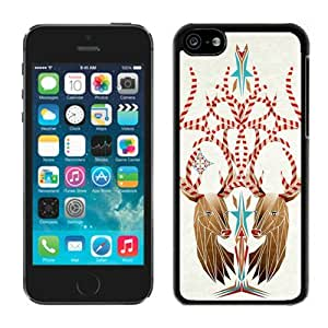 Provide Personalized Customized Iphone 5C TPU Case Christmas Deer Black iPhone 5C Case 3