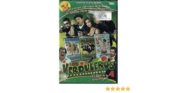 Amazon.com: 3 PELICULAS DE COLECCION [LAS NOVIAS DEL LECHERO & LOS VERDULEROS 4 & 3 LANCHEROS MUY PICUDOS] ALFONSO ZAYAS & LUIS DE ALBA: ALFONSO ZAYAS ...