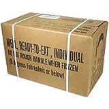 MREs (Meals Ready-to-Eat) Box A, Genuine U.S. Military Surplus, Menus 1-12