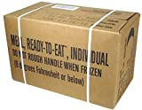 MREs Meals Ready to Eat Box A Genuine U.S. Military Surplus Menus 1 12 by Rothco