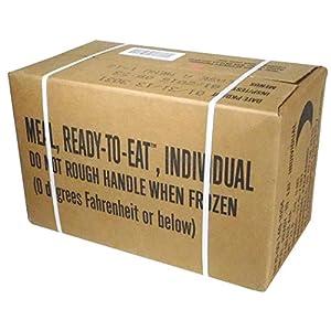 Rothco MREs (Meals Ready to Eat) Box A, Genuine U.S. Military Surplus, Menus 1 12