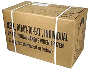 Rothco MREs (Meals Ready-to-Eat) Box A, Genuine U.S. Military Surplus, Menus 1-12