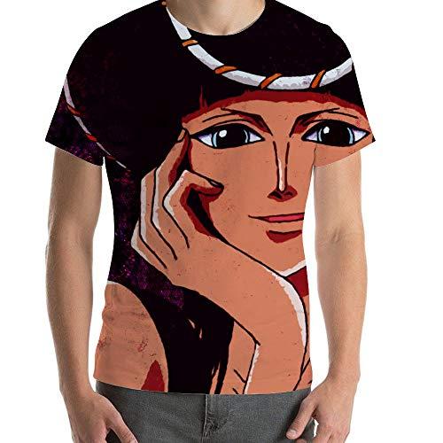 ICOSSATA T-Shirt Animation ONE Piece Nico Robin,Classic Animation,Adult Unisex Crew L