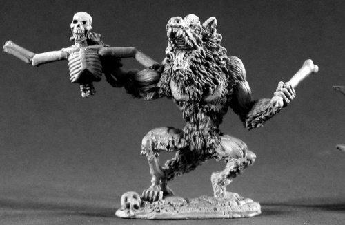 Reaper Miniatures Zombie Werewolf #02223 Dark Heaven Legends Unpainted Metal