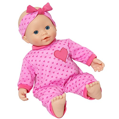 Soft Body Baby Doll - The New York Doll Collection 14 inch Soft Body Caucasian Baby Doll