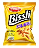 Bissli Falafel Flavored Crunchy Wheat Snack - No Food Coloring or Preservatives, 1.23oz Bag (Pack of 48)