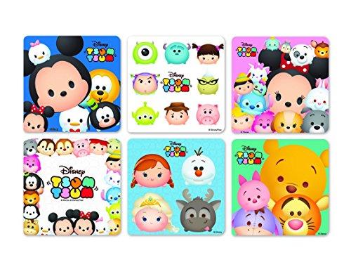 Sandy Lion Tsum Tsum Stickers - Roll of 100