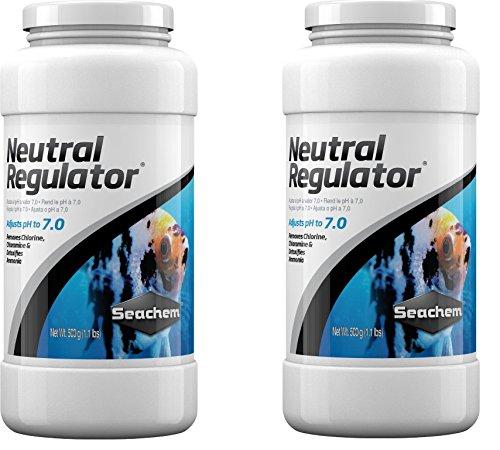 Seachem Neutral Regulator 500 Milliliter Bottles (2 Pack)