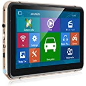 Xgody 740 7 Inch Portable Truck Car GPS Navigation Capactive Touch Screen Sat Nav Built-in 8GB ROM FM MP3 MP4...