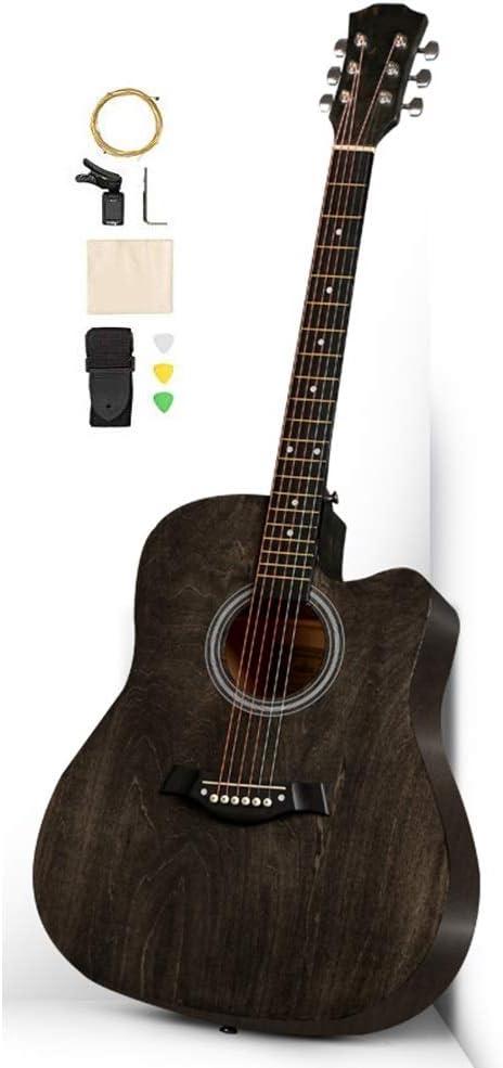 BAIYING-Guitarra Acústica 41 Pulgadas Guitarra Clásica ...