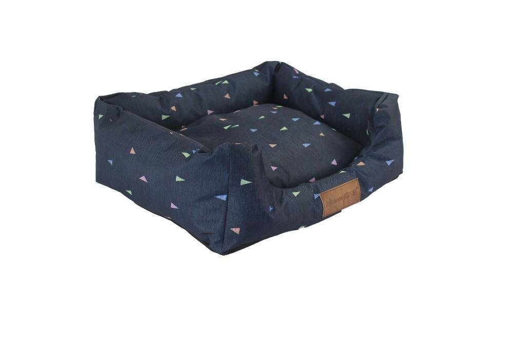 BiuTeFang Pet Bolster Dog Bed Comfort Comfort Comfort Quadrato Kennel può Essere Lavabile Pet Nest Warm Pet Bed Dog Mat 3214ba