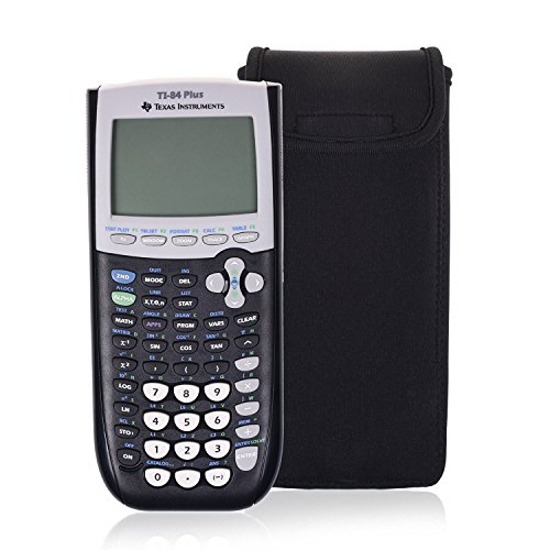 Orchidtent Portable Protective Box Cover Carrying Case Storage Travel Bag Pouch Shockprooffor Graphing Calculator Texas Instruments TI-84, 83, 85, 89, 82, Plus/C