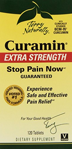 Terry Naturally Curamin Extra Strength, 120 Tabs (2 Pack) by EuroPharma