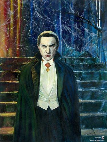 Bela Lugosi as Dracula Fine Art Poster by Robert Aragon