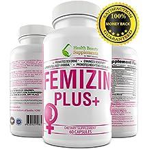 * FEMIZIN PLUS+ * Female Libido Enhancement – Female Sex Drive – Supports – Female Hormone Balance – Premium – Female Libido Enhancer,Female Libido Enhancement For A Boost In Sex Drive
