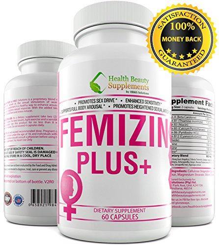 Female Libido Enhancement - * FEMIZIN PLUS+ * Female Libido Enhancement – Female Sex Drive – Supports – Female Hormone Balance – Premium – Female Libido Enhancer,Female Libido Enhancement For A Boost In Sex Drive