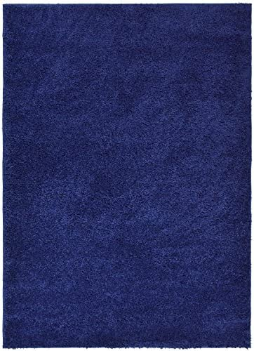 RugStylesOnline SOHO Shaggy Collection Solid Color Area Rug