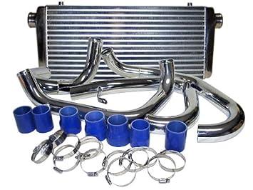 Turbo Intercooler de montaje frontal Kit para 02 - 06 Impreza WRX STI: Amazon.es: Coche y moto