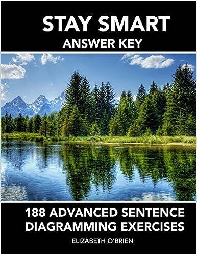 Amazon Stay Smart Answer Key 188 Advanced Sentence Diagramming