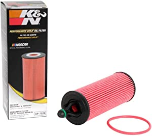 K&N Premium Oil Filter: Designed to Protect your Engine: Fits Select CHRYSLER, JEEP, and DODGE Vehicle Models (See Product Description for Complete Fitment Information) HP-7026
