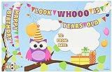 Edupress Happy Birthday Owls Bookmark Awards (EP63082)