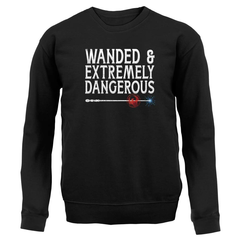Wanded /& Extremely Dangerous Kids Jumper 8 Colours