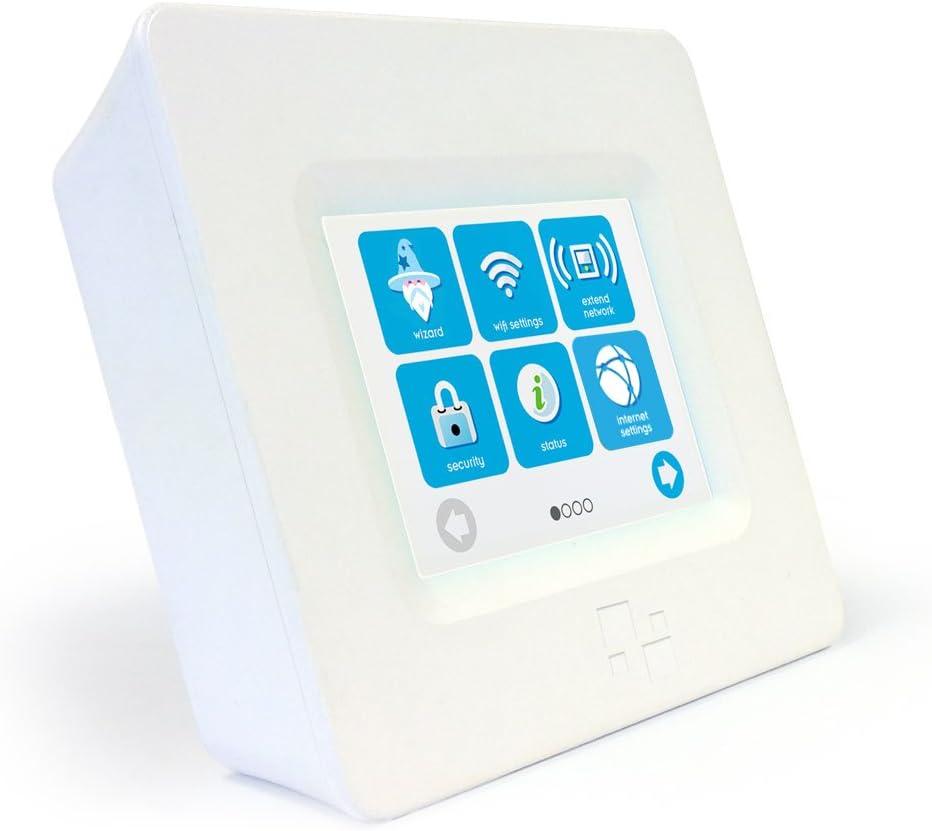 HomeScreen (3 Minute Setup) TouchScreen Dual Band Wireless Router / Range Extender AC750 (802.11ac)