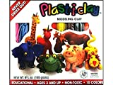 : PLASTICLAY 10 ASSORTED COLORS