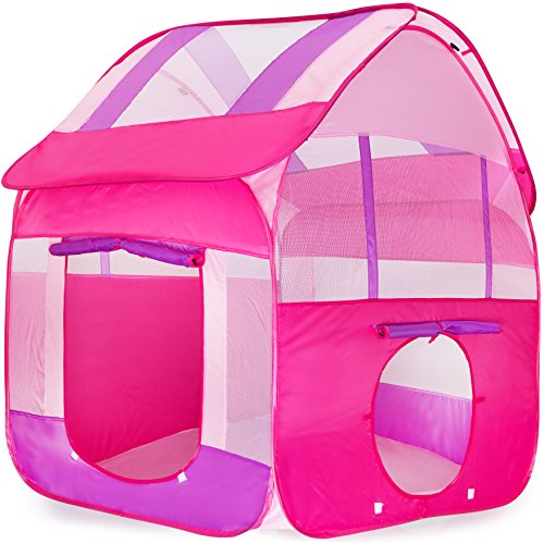 Kiddey Kids Play Tent, Great Playhouse Tent for Indoor/Outdoor, Pops Up No Assembly Required, With Convenient Carry Case for Easy Storage and Travel, Promotes Creativity, Imagination, Early (Acrobat Costume For Adults)