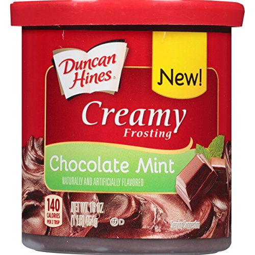 Duncan Hines Creamy Frosting, Chocolate Mint, 16 Ounce (Pack of (Creamy Chocolate Frosting)