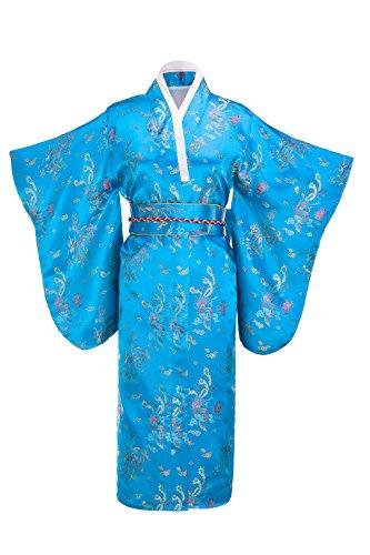 Yukata Gorgeous Japanese Traditional Brocade product image