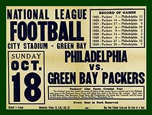Amazon Com Green Bay Packers Vs Philadelphia Eagles Game