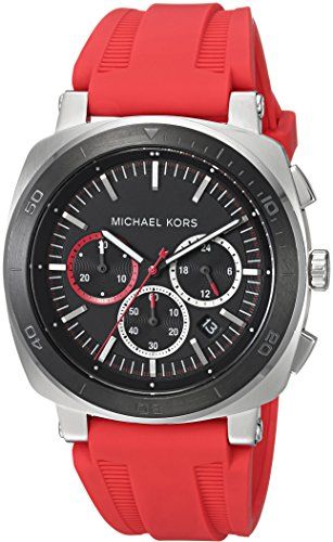 Michael Kors Men's Bax Red Watch MK8552 (Red Michael Kors Watch Men)