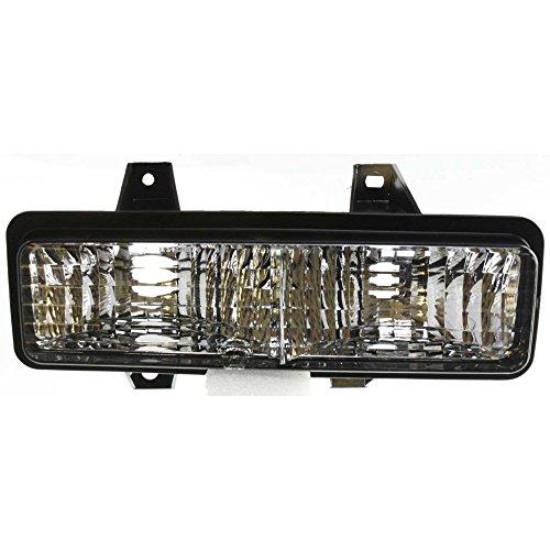 Evan-Fischer EVA22272012898 Park Lamp for Chevrolet Suburban 89-91 / Van Full Size 92-96 Right Lens and Housing Below Dual Head Lamps