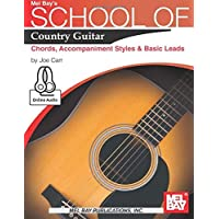 School of Country Guitar: Chords, Accompaniment Styles & Basic Leads
