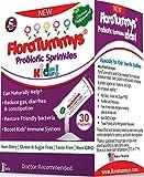 FloraTummys Probiotic Sprinkles for Kids: 30 Taste-Free, Powder Packets, Free of Food Allergies, Non-Dairy, Gluten & Sugar-Free, Non-GMO, Vegan. 5 Billion CFU, B. Lactis, L. Acidophilus, Review