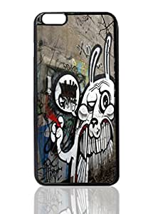 "Rabbit Graffiti Image Unique Diy New Hard Snap On Cover Protector Case For iPhone 6 Plus (5.5"") inches"