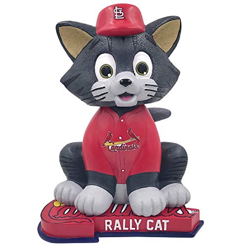 FOCO St. Louis Cardinals Rally Cat Red Jersey Special Edition Numbered to 1,000 Bobblehead MLB