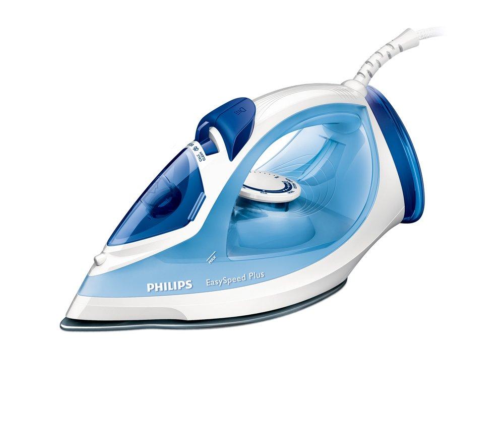 Philips EasySpeed GC2041/20 ferro da stiro Ferro a vapore Blu, Bianco 2300 W