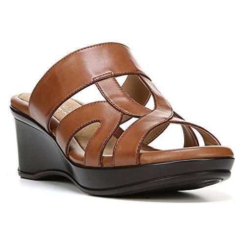Picture of Naturalizer Women's Vanity Slide,Saddle Tan Leather,US 9.5 W