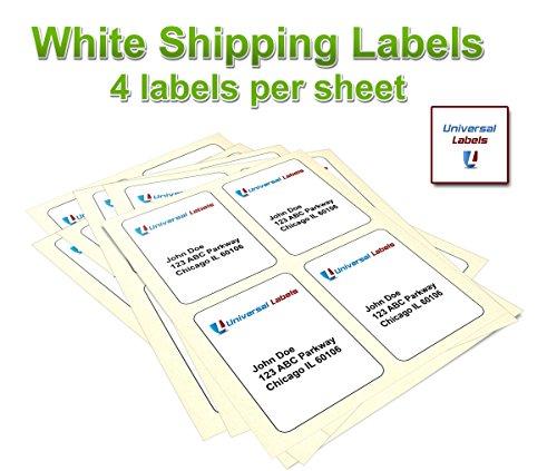 universal laser printer labels template - seller profile universal labels